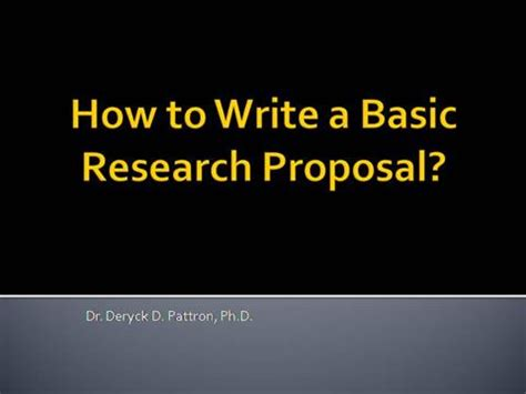 Examples delimitations research proposal