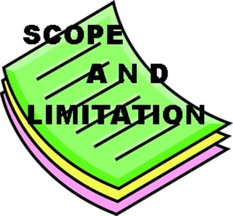 What Is The Meaning of Scope and Delimitation in Studies